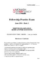 Monash Health 2016.2 – Book 1