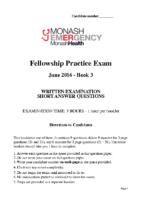 Monash Health 2016.2 – Book 3