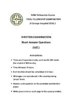 NSW Fellowship Course 2016.2_Part1