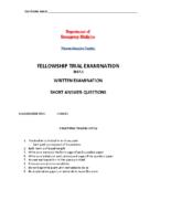SAQ trial exam 2017.1 FIRST BOOK